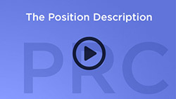 play button that says The Position Description